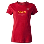 FIFA Beach World Cup 2013 Spain Women's T-Shirt (Red)