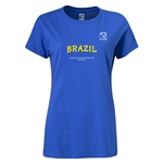 FIFA Beach World Cup 2013 Brazil Women's T-Shirt (Royal Blue)