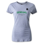 FIFA Beach World Cup 2013 Women's Senegal T-Shirt (Gray)