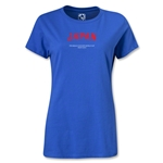 Japan FIFA Beach World Cup 2013 Women's T-Shirt (Royal Blue)