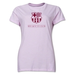 Barcelona Mes Que Un Club Women's T-Shirt (Pink)