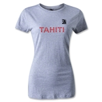 FIFA Confederations Cup 2013 Women's Tahiti T-Shirt (Gray)