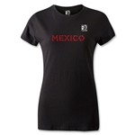 FIFA Confederations Cup 2013 Women's Mexico T-Shirt (Black)