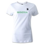FIFA Confederations Cup 2013 Women's Nigeria T-Shirt (White)