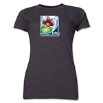 FIFA U-20 Women's World Cup Canada 2014 Women's Core T-Shirt (Dark Grey)