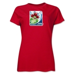 FIFA U-17 Women's World Cup Costa Rica 2014 Women's Core T-Shirt (Red)