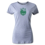 FC Nantes Distressed Crest Women's T-Shirt (Gray)
