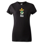 1970 FIFA World Cup Juanito Mascot Women's T-Shirt (Black)