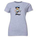 1978 FIFA World Cup Guachito Mascot Women's T-Shirt (Gray)