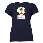 2002 FIFA World Cup Korea/Japan Women's Historical Emblem T-Shirt (Navy)