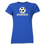 1990 FIFA World Cup Italy Women's Historical Emblem T-Shirt (Royal)
