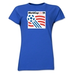 1994 FIFA World Cup USA Women's Historical Emblem T-Shirt (Royal)