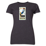 1930 FIFA World Cup Uruguay Women's Historical Emblem T-Shirt (Dark Grey)
