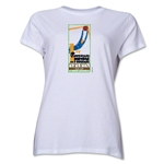 1930 FIFA World Cup Uruguay Women's Historical Emblem T-Shirt (White)