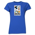 1934 FIFA World Cup Italy Women's Historical Emblem T-Shirt (Royal)
