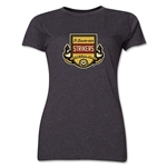 Ft. Lauderdale Strikers Women's T-Shirt (Dark Gray)