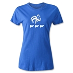 France FFF Women's T-Shirt (Royal)