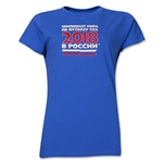 2018 FIFA World Cup Russia(TM) Women's T-Shirt (Royal)