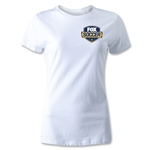 Fox Soccer Badge Women's T-Shirt (White)