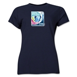 FIFA U-17 Women's World Cup Costa Rica 2014 Women's Core T-Shirt (Navy)