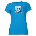 FIFA U-17 Women's World Cup Costa Rica 2014 Women's Core T-Shirt (Turquoise)