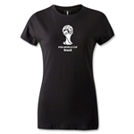 2014 FIFA World Cup Brazil(TM) Women's Emblem T-Shirt (Black)
