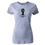 2014 FIFA World Cup Brazil(TM) Women's Emblem T-Shirt (Gray)