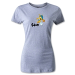 2014 FIFA World Cup Brazil(TM) Women's Mascot T-Shirt (Gray)