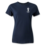 2014 FIFA World Cup Brazil(TM) Women's Emblem T-Shirt (Navy)