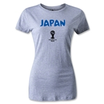 Japan 2014 FIFA World Cup Brazil(TM) Women's Core T-Shirt (Gray)