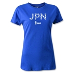 Japan 2014 FIFA World Cup Brazil(TM) Women's T-Shirt (Royal)