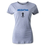 Argentina 2014 FIFA World Cup Brazil(TM) Women's Core T-Shirt (Grey)