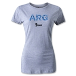 Argentina 2014 FIFA World Cup Brazil(TM) Women's Elements T-Shirt (Grey)