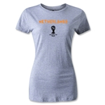 Netherlands 2014 FIFA World Cup Brazil(TM) Women's Core T-Shirt (Grey)