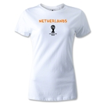 Netherlands 2014 FIFA World Cup Brazil(TM) Women's Core T-Shirt (White)