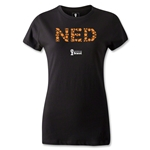 Netherlands 2014 FIFA World Cup Brazil(TM) Women's Elements T-Shirt (Black)