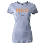 Netherlands 2014 FIFA World Cup Brazil(TM) Women's Elements T-Shirt (Grey)