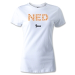 Netherlands 2014 FIFA World Cup Brazil(TM) Women's Elements T-Shirt (White)