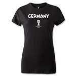 Germany 2014 FIFA World Cup Brazil(TM) Women's Core T-Shirt (Black)