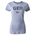 Germany 2014 FIFA World Cup Brazil(TM) Women's Elements T-Shirt (Grey)