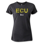 Ecuador 2014 FIFA World Cup Brazil(TM) Women's Elements T-Shirt (Dark Grey)