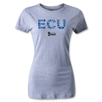 Ecuador 2014 FIFA World Cup Brazil(TM) Women's Elements T-Shirt (Grey)