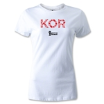 South Korea 2014 FIFA World Cup Brazil(TM) Women's Elements T-Shirt (White)