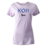 South Korea 2014 FIFA World Cup Brazil(TM) Women's Elements T-Shirt (Pink)