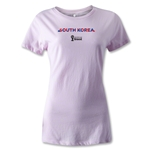 South Korea 2014 FIFA World Cup Brazil(TM) Women's Palm T-Shirt (Pink)