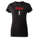 Iran 2014 FIFA World Cup Brazil(TM) Women's Core T-Shirt (Black)