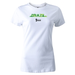 Brazil 2014 FIFA World Cup Brazil(TM) Women's T-Shirt (White)