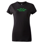2014 FIFA World Cup Brazil(TM) Women's Portugese Logotype T-Shirt (Black)