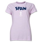 Spain 2014 FIFA World Cup Brazil(TM) Women's Core T-Shirt (Pink)