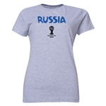 Russia 2014 FIFA World Cup Brazil(TM) Women's Core T-Shirt (Grey)